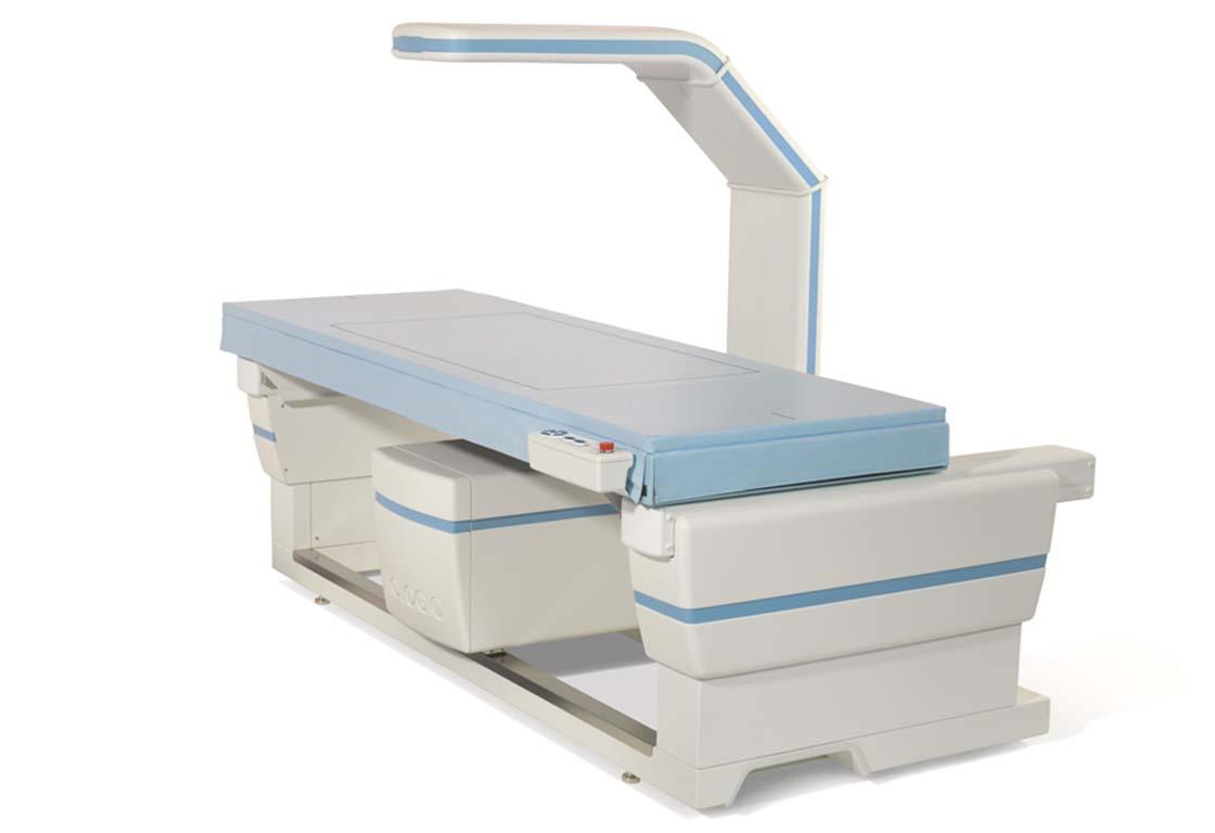 骨密度測定の写真